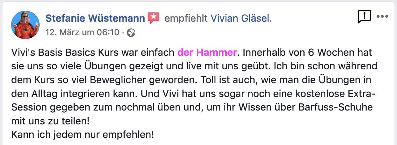 Rezension Stefanie Wüstemann