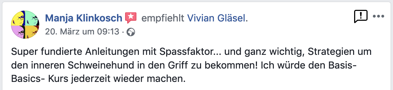Rezension Manja Klinkkosch