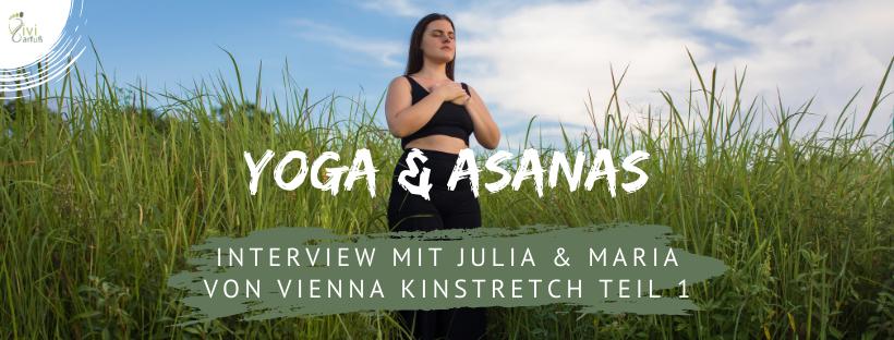 Yoga und Asanas Interview Vienna Kinstretch