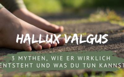 Hallux valgus: Wie er entsteht und was du jetzt tun kannst